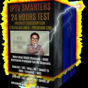 iptv smarters pro test